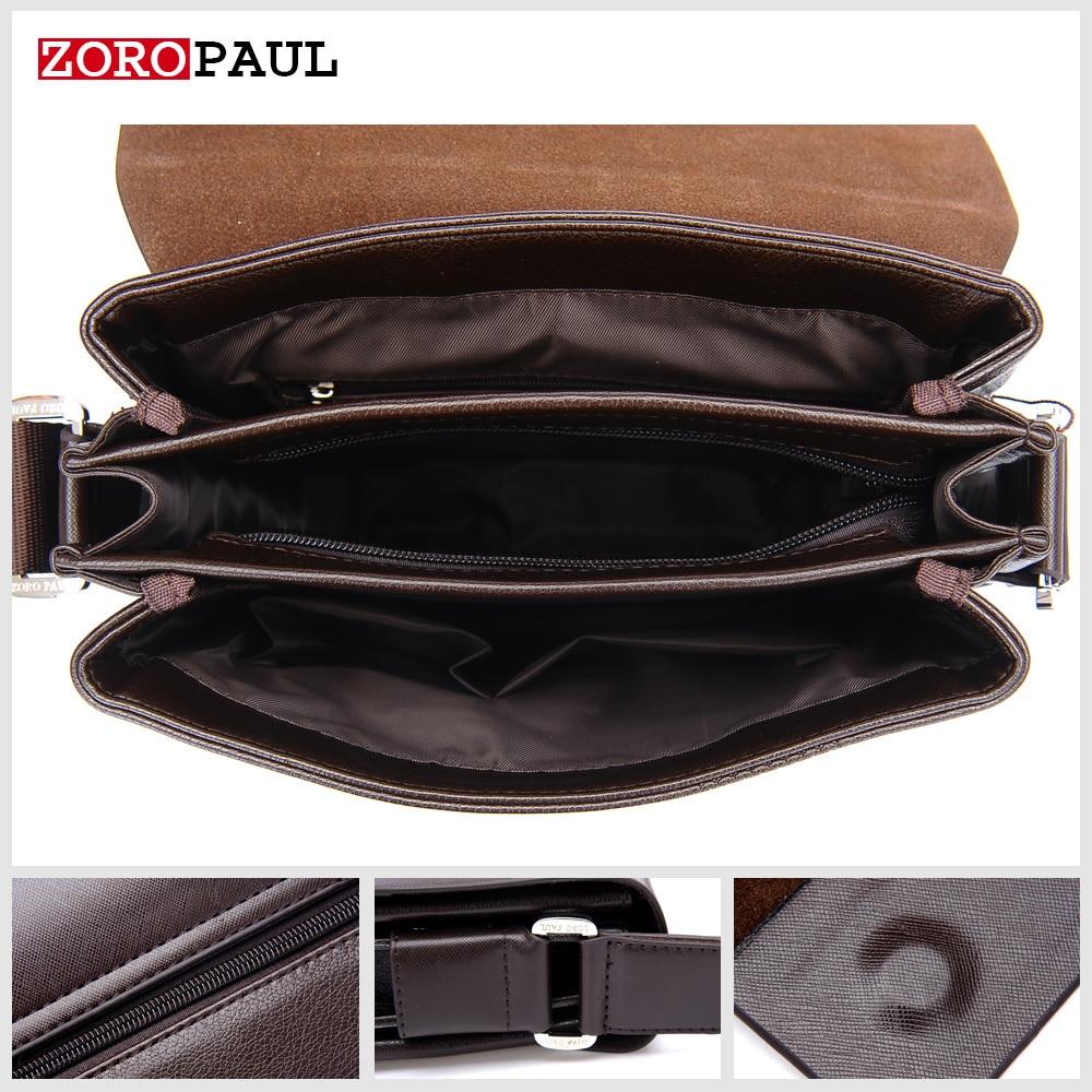 zoropaul nova chegada de negócios Usage : Fashion Men's Messenger Bag And Clutch Wallet, The Best Gift For Men