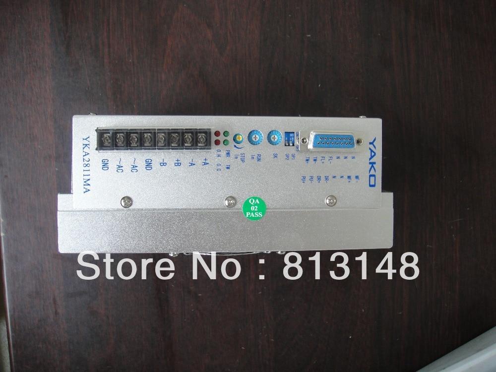 Controlador de motor paso a paso YAKO de 3 piezas, modelo YKA2811MA, controlador de motor paso a paso de máquina cnc