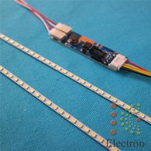 455mm LED Backlight lamp Strip Kit Adjustable brightness Update  20.1″ wide 20 inch CCFL LCD to LEDCan be cut by every 3 lamps