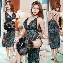 Women Lace Underwear Classical  Dress Erotic lingerie Nightwear Sexy Lingerie underwear