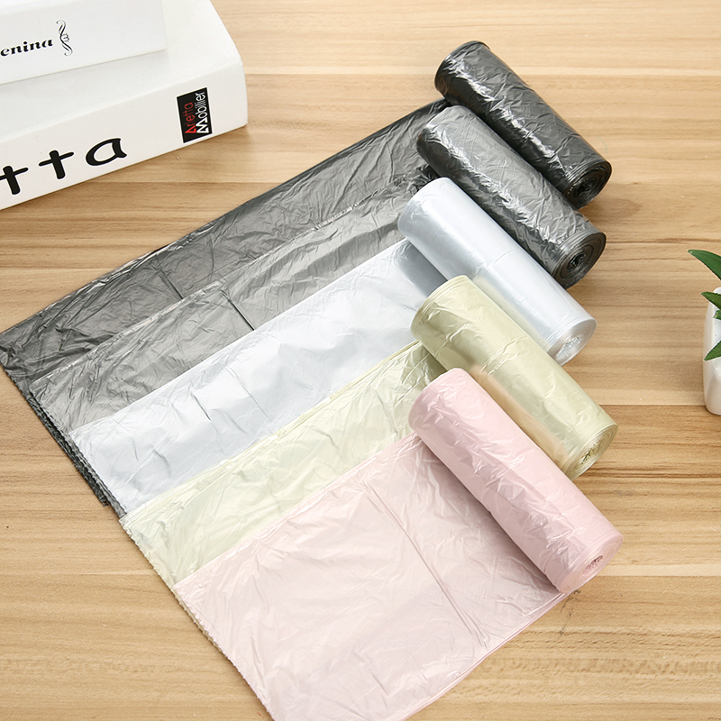 Trash Bags Large Thick Garbage Bag Household Disposable Black Plastic Storage Bag Kitchen Bathroom Garbage Bag 50*45cm