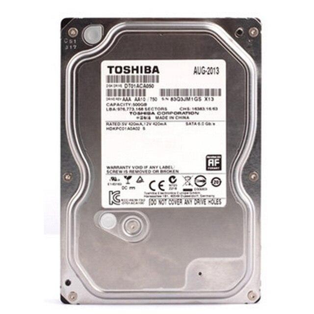 """Toshiba 500 gb 3.5 500 gam HDD HD Ổ Đĩa Cứng Nội Bộ SATA 3.0 7200 vòng/phút 32 mb Bộ Nhớ Cache 3.5"""" Ổ Đĩa Cứng nội bộ Đĩa cho Máy Tính Để Bàn PC"""