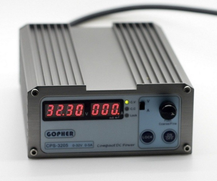 ФОТО Fast arrival CPS-3205 160W (110Vac/ 220Vac) 0-32V/0-5A,Compact Digital Adjustable DC Power Supply