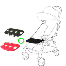 Baby stroller accessories extend pedal