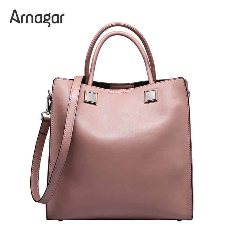 Arnagar women bags genuine leather luxury handbags designer crossbody bags for women tote bag women messenger bags bolsas sac a