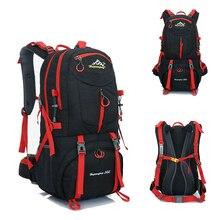 60L 50L 40L мужской водонепроницаемый рюкзак для путешествий, спортивная сумка для отдыха на открытом воздухе, альпинизма, альпинизма, кемпинга, рюкзак для мужчин