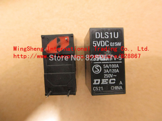 Original new 100% DLS1U-5VDC TV-5 0.15W DLS1U-5V DLS1U-DC5V DLS1U 5VDC TV-5 0.15W RELAY
