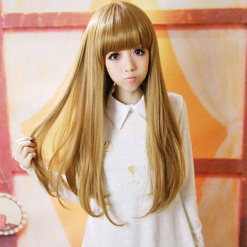 Bjc 001583 Women Night Club Lovely Style Girl Long Hair Cosplay