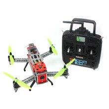 DIY RTF 260 RC Racer Across Frame Small Drone Full Set with CC3D Controller RadioLink T6EHP-E Transmitter ESC Motor F16051-E