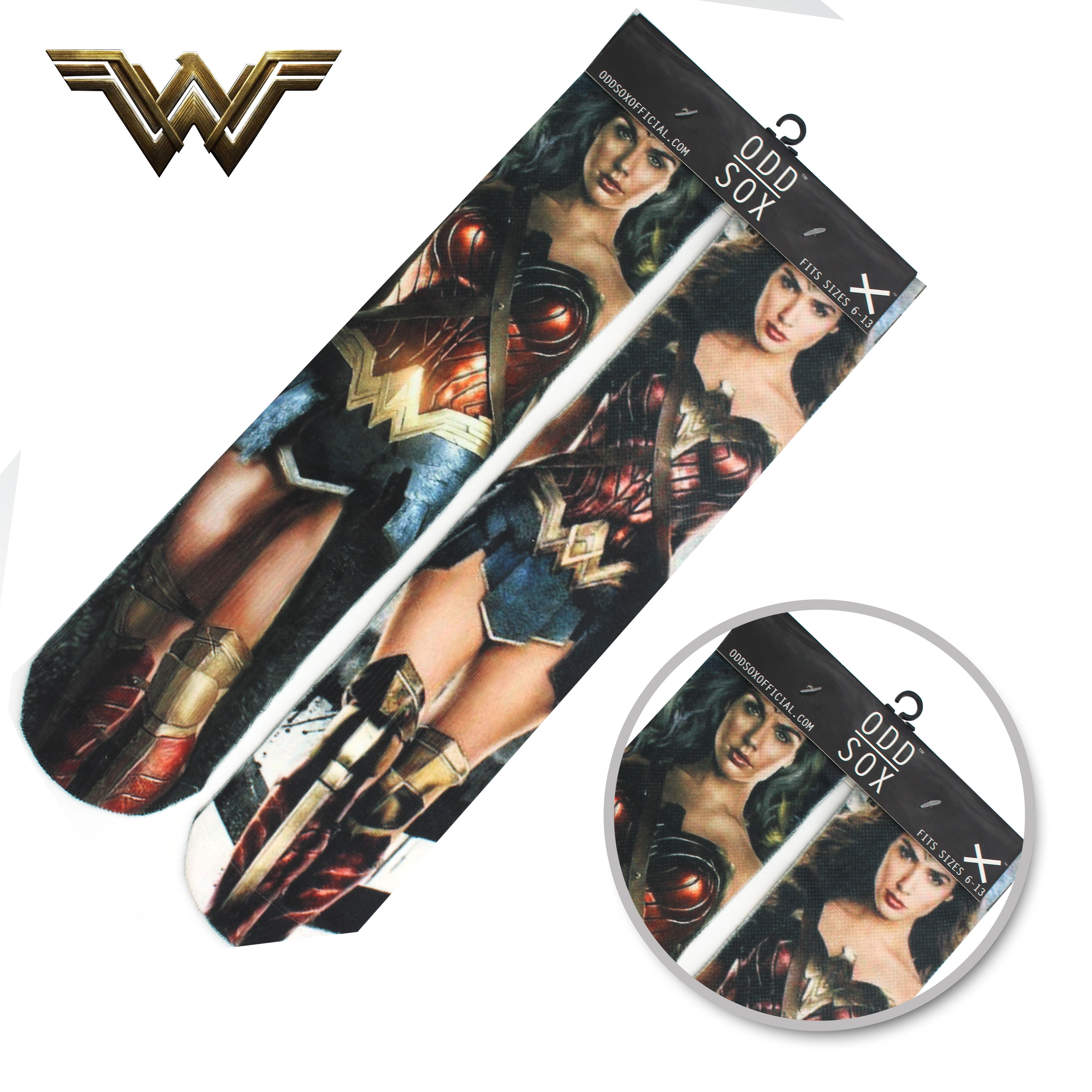 "4x16"" DC Comics Justice League Wonder Woman Batman Cotton Socks Colorful Stockings Tights Cosplay Costume Unisex Fashion Gifts"