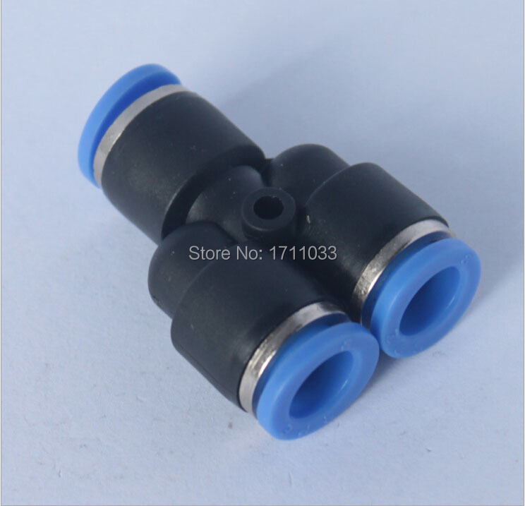 Buy 1 4 pneumatic quick tube fitting y for Types of plastic water pipe
