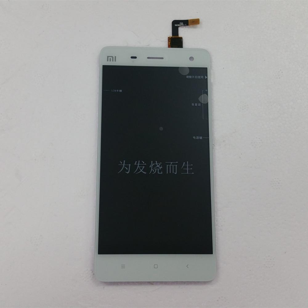 Prix pour De Rechange d'origine Partie LCD de Remplacement Affichage + Écran Tactile Pour Xiaomi Mi4 Smartphone FHD 1920*1080