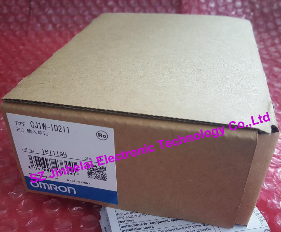 100%New and original CJ1W-ID211 OMRON PLC CONTROLLER INPUT UNIT new original cj1w ph41u plc 4 input point process input units