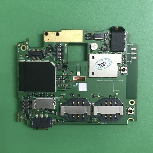 Em estoque 100% taxa de chipsets motherboard placa de cartão trabalho original para lenovo s820 smartphone repair replacement + número de rastreamento