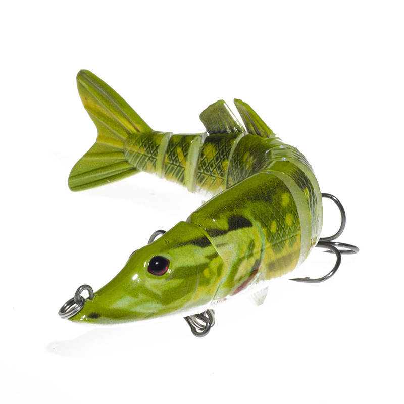 New artificial pike fishing 20g 9 segement isca for Pike fishing lures