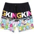 Free shipping male summer Board Shorts capris knee-length plus size xxl xxxl 4xl 5xl 6xl 7xl 8xl beach loose short trousers