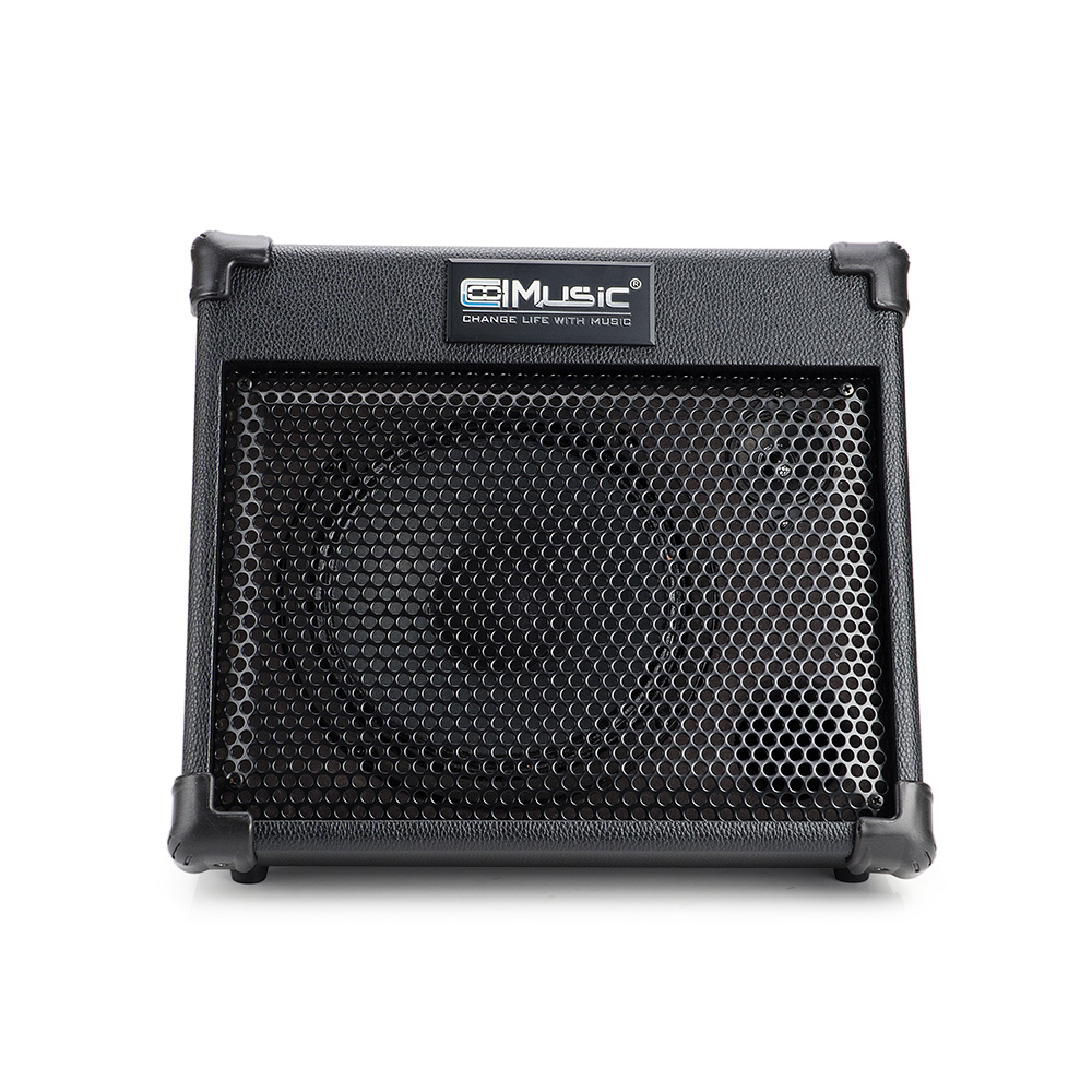 Coolmusic BP25 Portable Powered Battery Amplifier with Bluetooth, Acoustic Guitar Amplifier Keyboard Amplifier and Sound Speaker mini micro battery powered portable guitar amp classic marshall guitar portable and lightweight