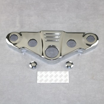 Motorcycle Chrome  Triple Tree Front End Upper Top Clam For HONDA VTX1300 2003 2004 2005 2006 2007 2008 2009