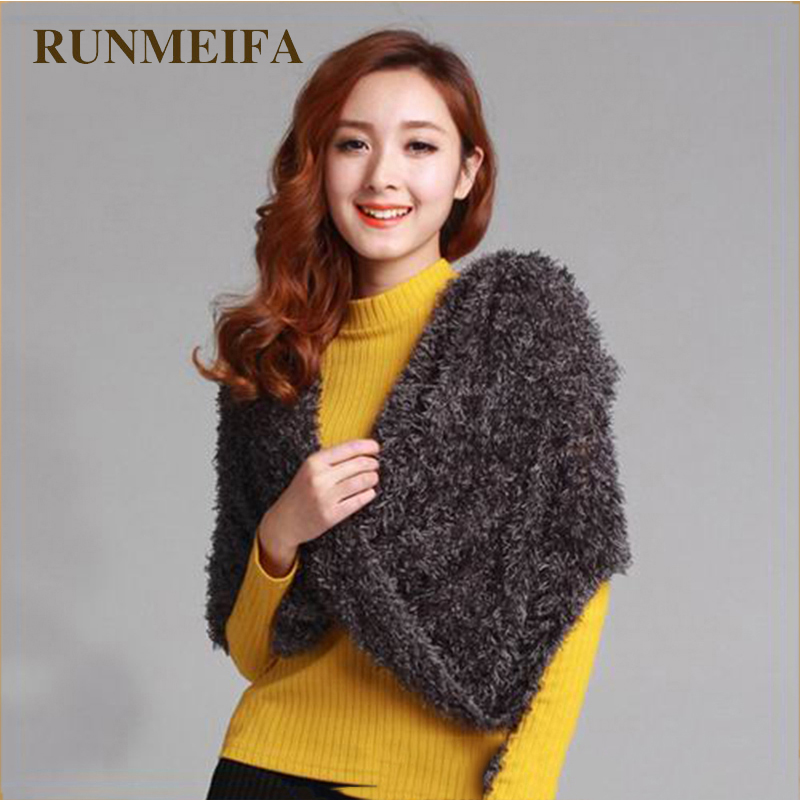 [RUNMEIFA]  2019 New Ladies Winter Magic Scarf Snood Scarf Scarves Soft Multifunction Outdoor Headscarf For Ladies Poncho Winter