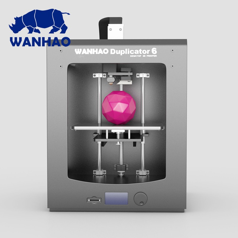 WANHAO 3D Printer D6 High Speed High Accuracy 3D Printer Free Gift full assembled Cheap and high quality top high speed full teeth piston