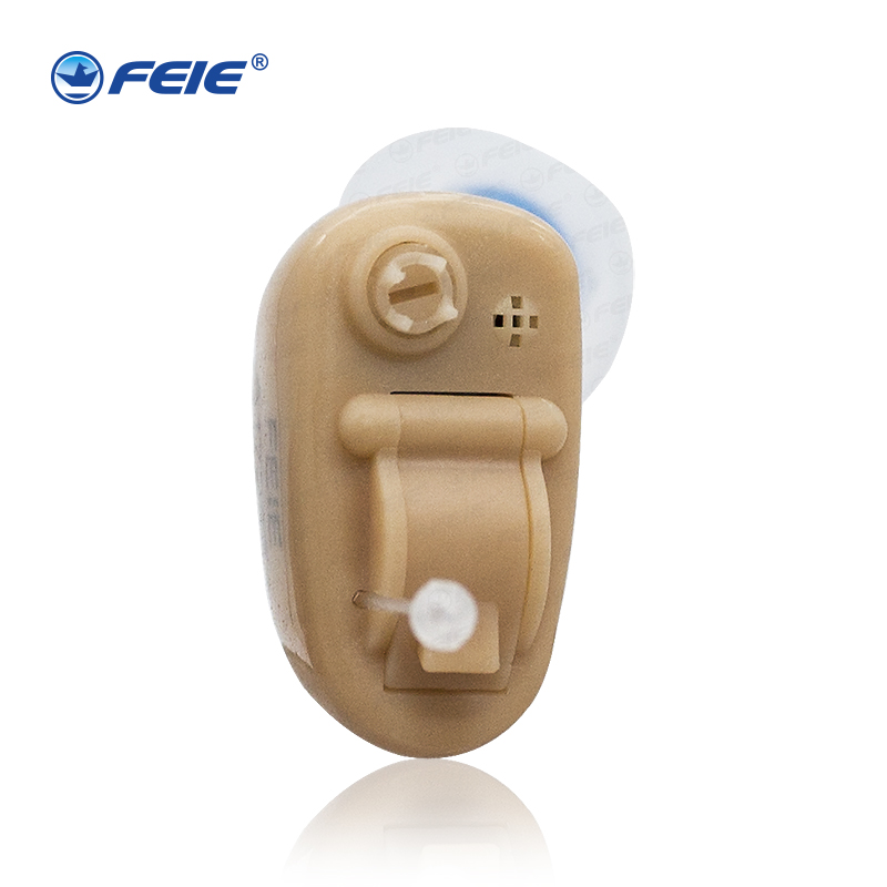 2017 Newest Skin Color Hearing aid Invisible Ear Deaf Sound amplifier with noise reduction for mild moderate S-9A free Shipping