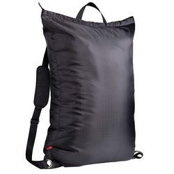Большая сумка для стирки на молнии, рюкзак для стирки колледжа с 2 прочными регулируемыми плечевыми ремнями для колледжа 24 дюйма X34 дюйма