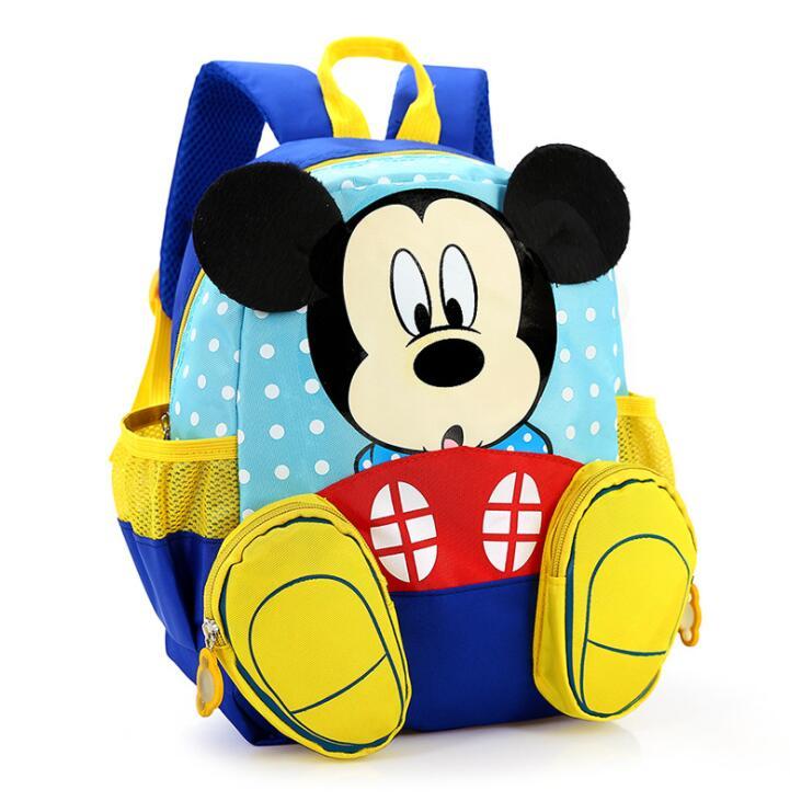 Детская школьная сумка с Микки Маусом, детская школьная сумка, Детский рюкзак для детского сада, детские школьные сумки, портфель для мальчи...