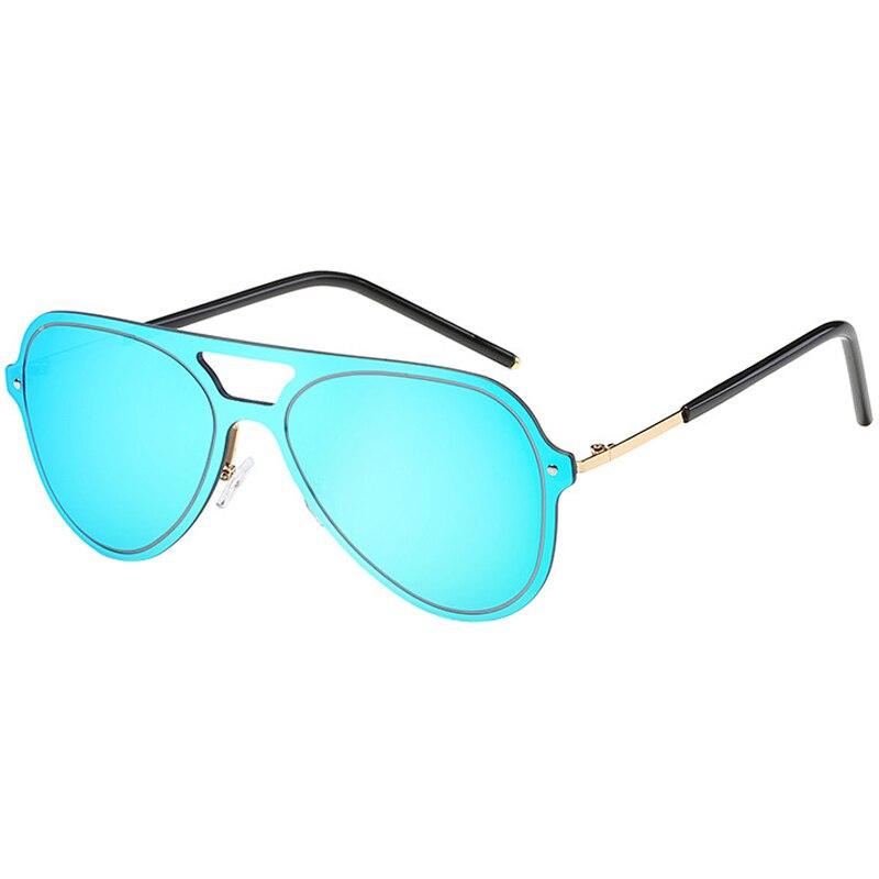 MINAKOLIFE  Oversized Cat Eye Sunglasses Women Round Mirror Gold Rose Frame Flat Mirror Sun Woman Fashion HD Lens Glasses G52317