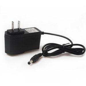 Image 2 - Зарядное устройство для литиевых аккумуляторов 12,6 в, 1 А, 18650/блок полимерных аккумуляторов 100 240 в, вилка для ЕС/США, зарядное устройство с проводным свинцовым разъемом постоянного тока, 5,5*2,1*10 мм