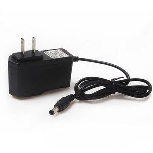 Image 2 - 12.6 V 1A Lityum pil şarj cihazı 18650/polimer pil paketi 100 240 V AB/ABD Plug Şarj Cihazı Tel Kurşun Ile DC Fiş 5.5*2.1*10 MM