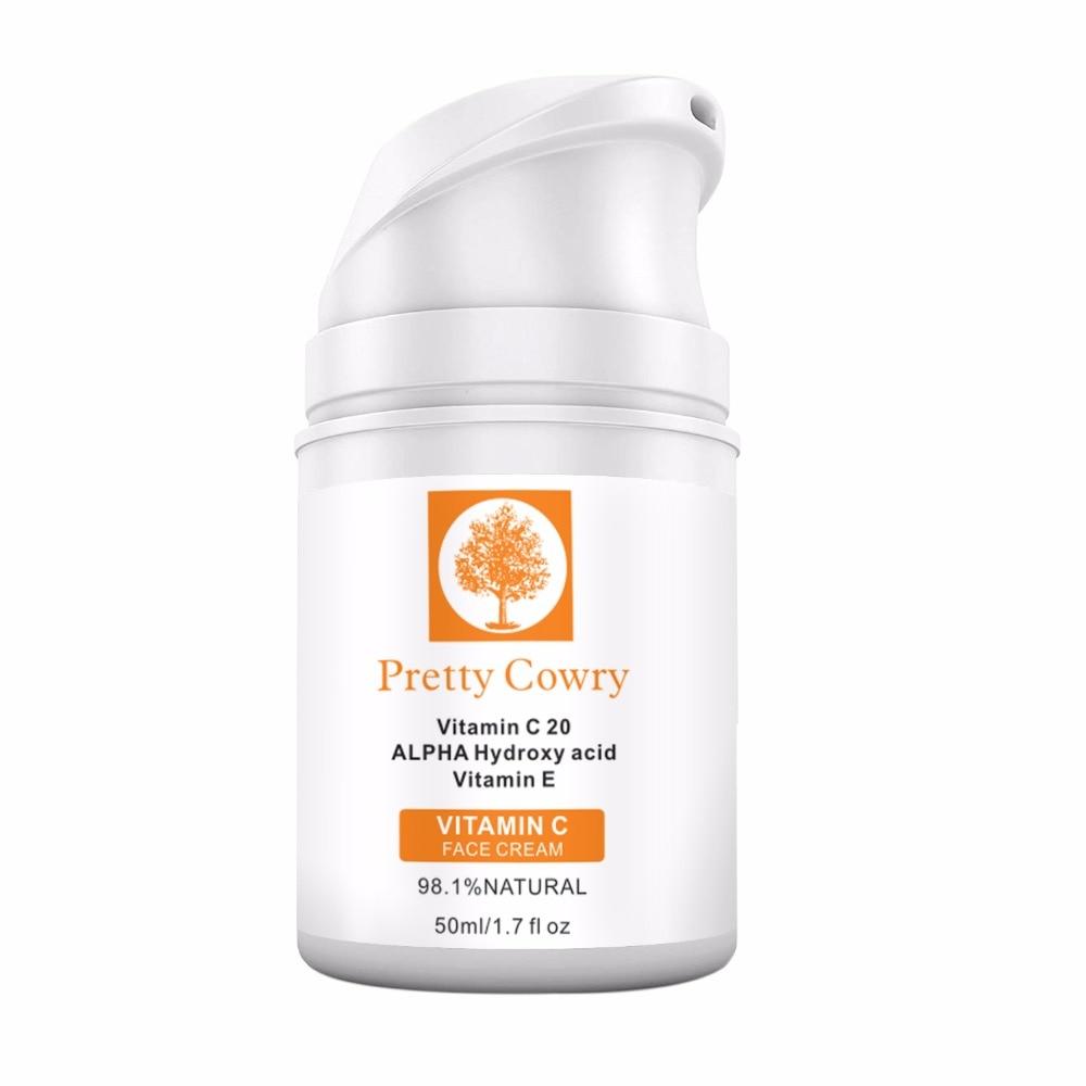 50g Vitamin C Moisturizing Face Cream Organic Retinol Whitening Anti Aging Wrinkles Moisturizer Hydration Skin Care Tool