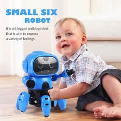 Интерактивный робот прогулки умный робот игрушки чувств жест управление подарки для детей ребенок творчество воображение