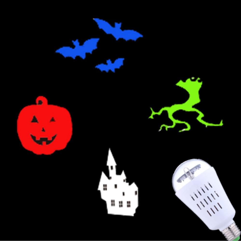2018 New Arrival Indoor Halloween Led Light projektor, Soul-rörande - Festlig belysning - Foto 3