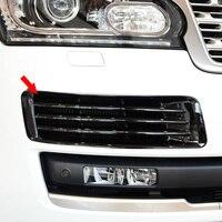 2Pcs Car Chrome Front Bumper Fog Light Grille Cover Trim Fog Lamp Cover Stickers for Land Rover Range Rover Vogue L405 2013 2017
