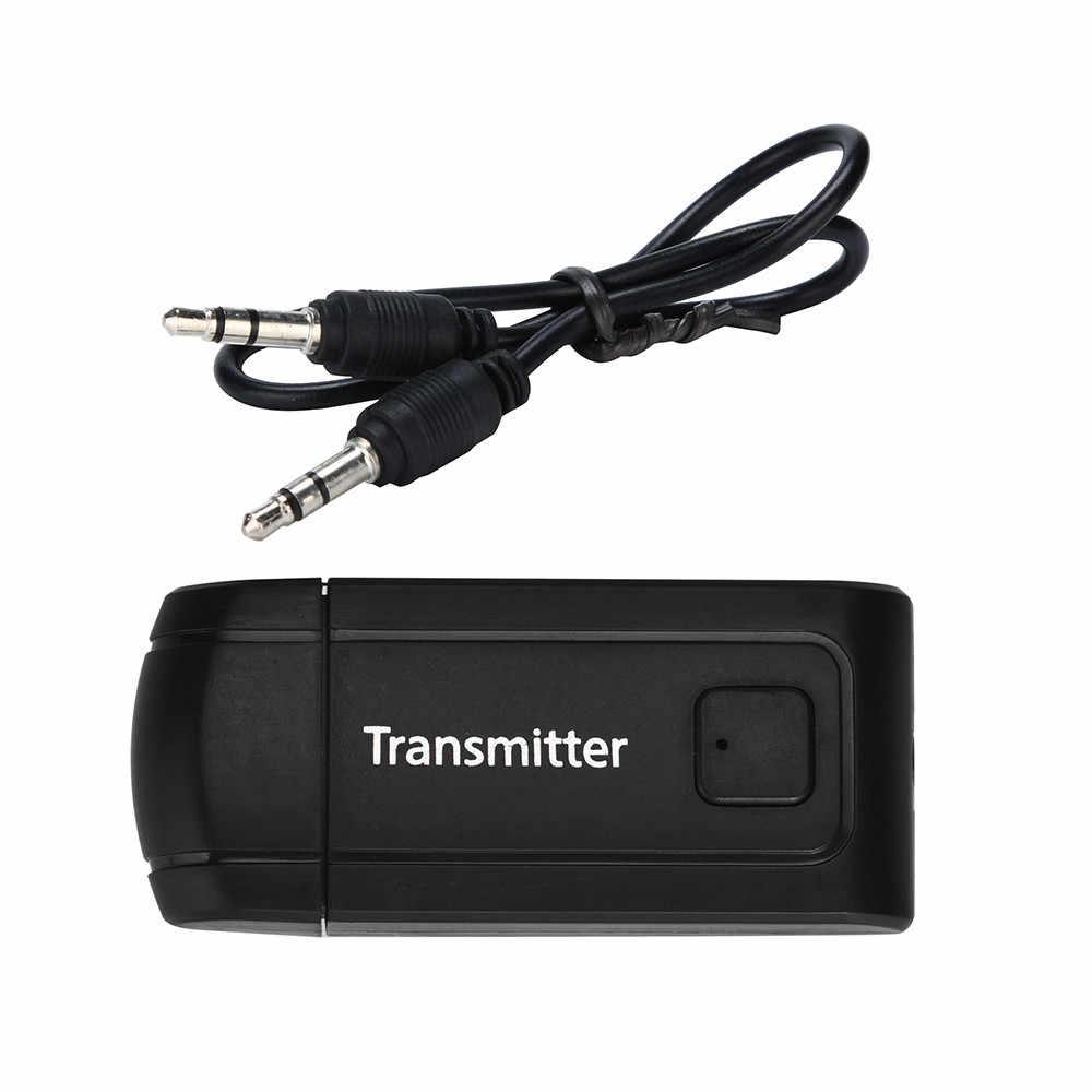Bluetooth V4 トランスミッタレシーバワイヤレス A2DP 3.5 ミリメートルステレオオーディオ音楽アダプタテレビ電話 pc Y1X2 MP3 MP4 テレビ pc # U25