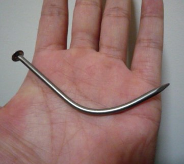 Super Nail Bend (Memory Metal) Magic Tricks For Professional Magician Stage Close Up Street Illusion Gimmick Props Mentalism недорого