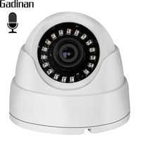 GADINAN Wide Angle 2 8mm Lens Internal Audio Dome IP Camera 720P 960P Hi3518EV200 Built In