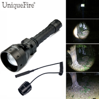UniqueFire Lantern 1406 CREE XML T6 LED Flashlight Outdoor Water Resistant Handheld Torch With Adjustable Focus