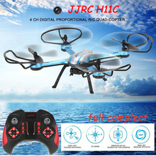 JJRC H11C Drone With HD Camera 2.0MP 2.4G 4CH 6-Axis One Key Return RC Quadcopter RTF Remote Control Helicopter Drone Dron