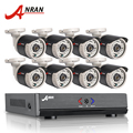 ANRAN 8CH CCTV System 1080N Output HDMI DVR 720P 1800TVL IR Outdoor CCTV Camera Home Security System Video Surveillance Kits