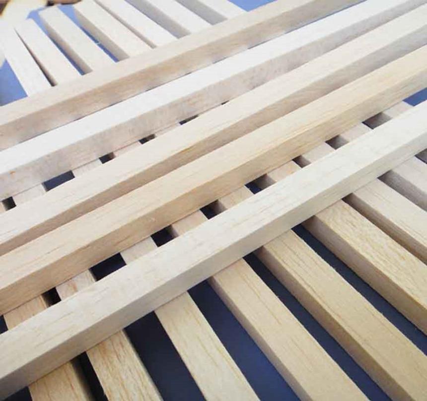 500mm panjang 2x2 / 3x3 / 4x4 / 5x5 / 6x6 / 8x8mm Bar kayu panjang - Mainan kawalan radio - Foto 4