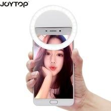 JOYTOP 36 LED Портативный селфи светодиодной вспышкой Камера клип на мобильный телефон селфи кольцо света свет ночного повышения заполните свет