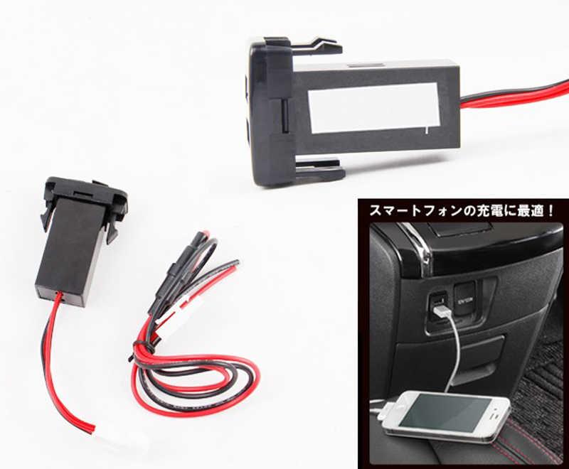 Dual USB Интерфейс разъем для Toyota Hilux VIGO зарядки для iPhone MP3 MP4 смартфон PAD Tablet PC gps