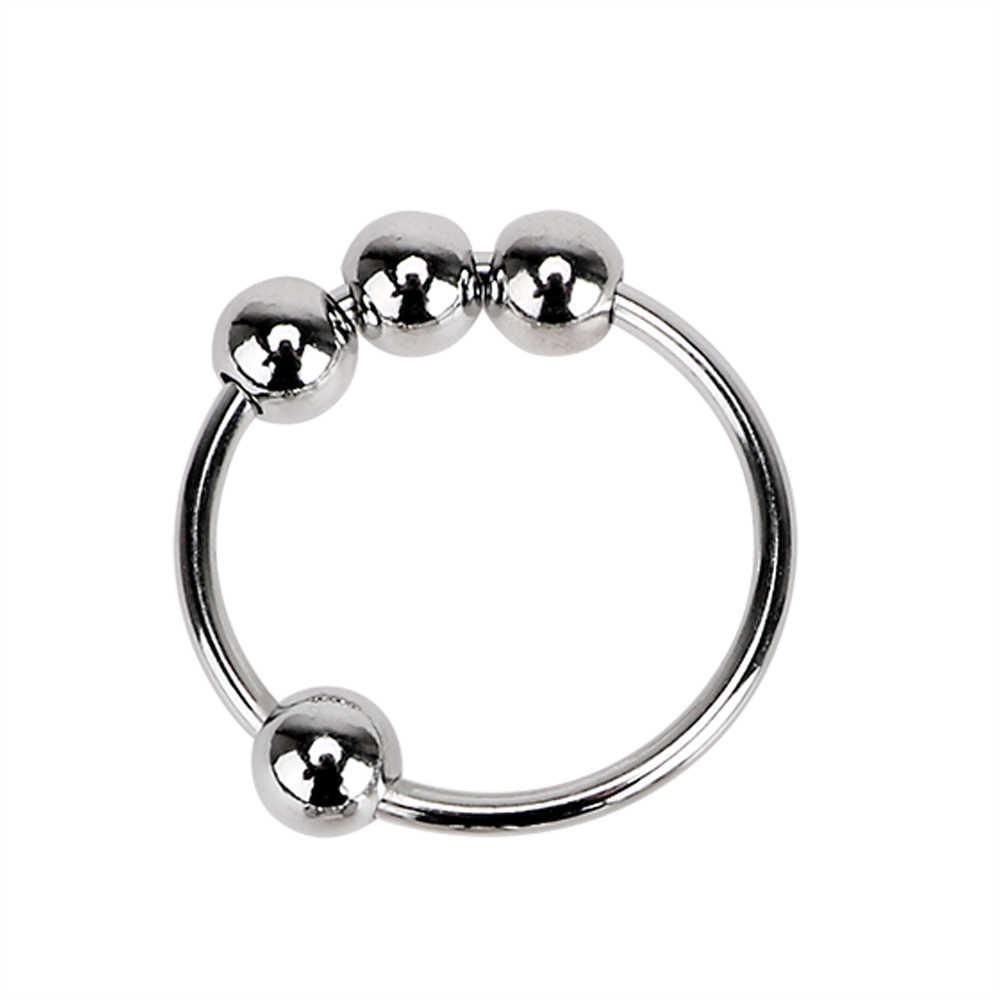 OLO 포피 지연 사정 남성 순결 장치 섹스 토이 남성용 스테인레스 스틸 남근 반지 수탉 반지 남근 슬리브