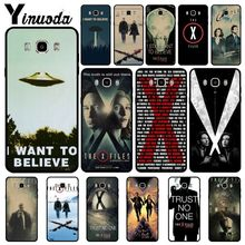 Yinuoda The X-Files Alien UFO retro Poster Retro Kraft Phone Case For Samsung Galaxy j6plus j7prime j8 j2prime j4plus 2018 coque