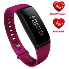 Bluetooth Smart запястье ZB78 часы Приборы для измерения артериального давления heartrate SmartBand SMS вызова напомнить часы inteligente Pulso для IOS Android