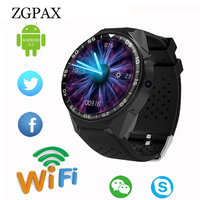 For Android 5.1 Bluetooth Smart Watch For Samsung Gear S3 with 2MP Camera 3G WIFI GPS Smartwatch Heart Rate Monitor