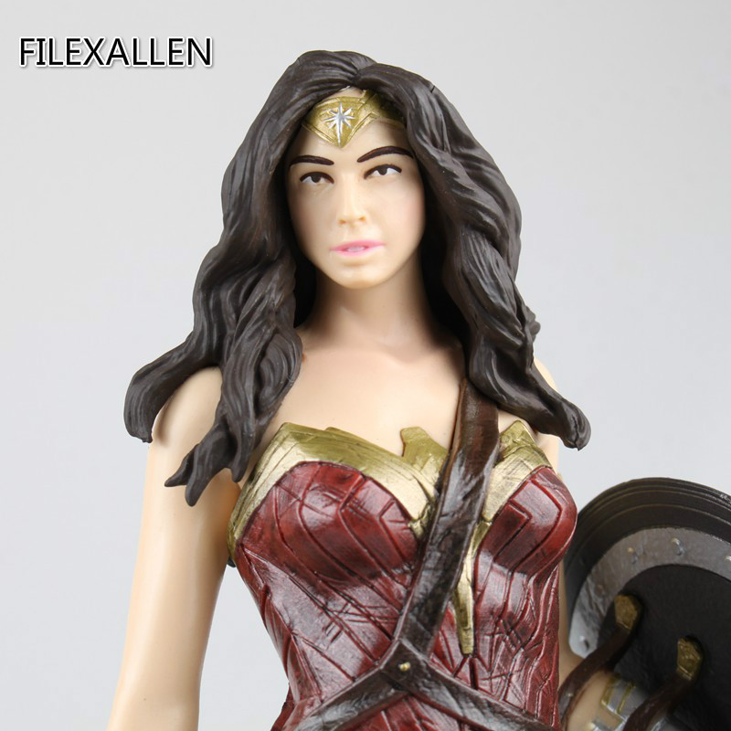 26cm Wonder Woman Diana Justice League Super Hero Action Figure Toys Doll for Kids Christmas Gift new hot 18cm super hero justice league wonder woman action figure toys collection doll christmas gift with box
