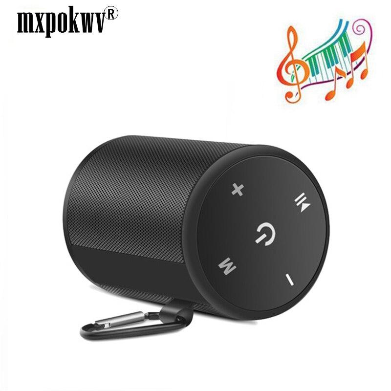 Portable haut-parleur extérieur étanche sans fil Bluetooth haut-parleur stéréo Hi-Fi boîtes Support TF carte FM Radio Super basse