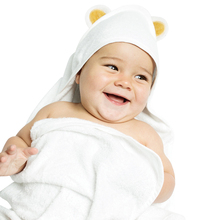 1PC Hooded Baby Bath Towel For Newborns 85X85cm Super Soft Bamboo Fiber Bath Towels For Kids Cute Baby Blanket Swaddle
